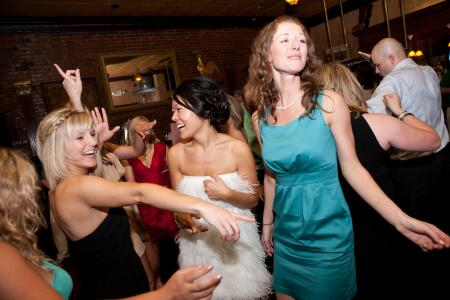 We love seeing those pearly-whites as you dance away to your favorite selections of party music.