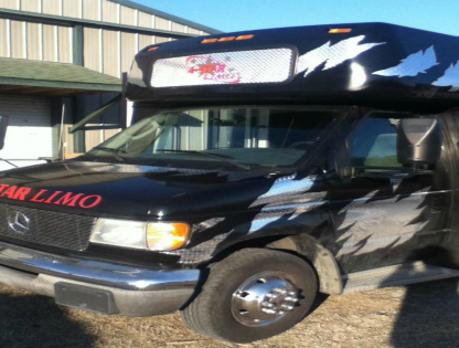 Get party started with our Black Party Bus Limo!