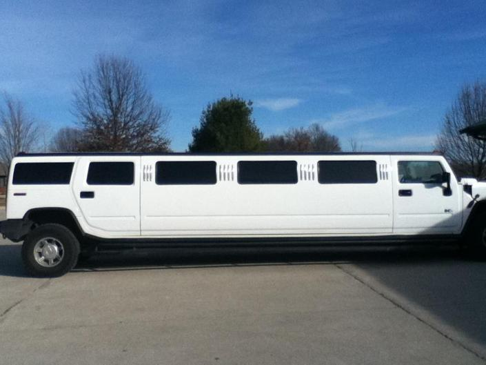 Have a blast with your friends in our exclusive stretch Hummer limo!]